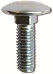 Винт М6х16 с гладкой головкой и квадратным подголовником
