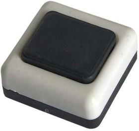 Фото 1/2 Кнопка звонка бел. корп. черн. кнопка БЕЛТИЗ А1-0.4-001