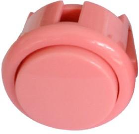 24mm-BL1-P (OBSF-24), Кнопка аркадная 24мм розовая 16А/250V
