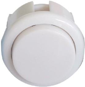 30mm-BL1-White, Кнопка аркадная 30мм белая 16А/250V