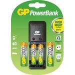 Зарядное устройство GP PB330, 2 аккумулятора GP АА (LR6) и 2 ...