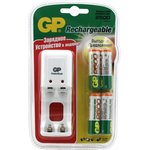 Зарядное устройство GP PB330 и 4 аккумулятора GP АА (LR6) ...