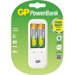 Зарядное устройство GP PB410 и 2 аккумулятора GP АА (LR6) ...