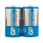 Батарейки GP 13CEBRA-2S2 D (R20)