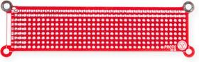 PCB05, Печатная макетная плата 108,5x32,3, двухсторонняя с металлизацией, с крепежными отверстиями | купить в розницу и оптом