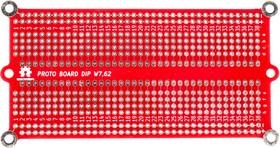 Фото 1/3 PCB, Печатная макетная плата 108,5x57,7, двухсторонняя с металлизацией, с крепежными отверстиями