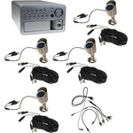W3-KD2104B,система видеонаблюдения 220В