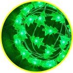 Гирлянда 14 050 NGF-DM002-20G-2AA-зеленые елочки Navigator 14050
