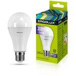 LED-A70-30W-E27-6K Эл.лампа светодиодная ЛОН 30Вт E27 6500K 180-240В 14230