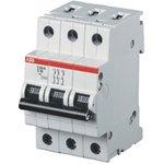 Выключатель автоматический модульный 3п C 25А 10кА S203M ABB ...