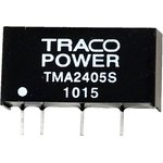 TMA 2405S, DC/DC преобразователь, 1Вт, вход 21.6-26.4В ...