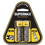 Элемент питания алкалиновый LR6 (уп.2шт) Supermax SUPLR62S