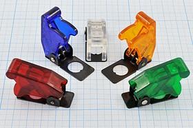Защитный кожух-колпачок для тумблера, прозрачный, № 12633 колп-защитный ПРыч\d12x17x40,5\ пл\пр/пр\\SAC-01