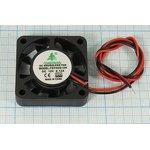 Вентилятор постоянного тока 12 Вольт, шариковый подшипник, 7000об/мин ...