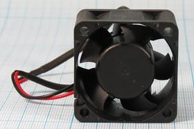 Вентилятор постоянного тока 12В, 40х40х28мм, подшипник скольжения, 10000 об/мин, ВН370H вент 40x40x28\ 12В\0,25А\2L+ HU\ПС\FSY48S12H