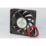 Вентилятор постоянного тока 12 Вольт, 70x70x15мм, шариковый подшипник ...