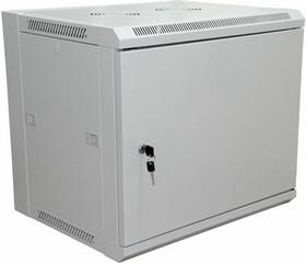 """04-2210, 19"""" Настенный шкаф 6U 600×450×370 мм (ШxГxВ) - передняя дверь металл, боковые стенки съемные"""