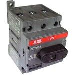 Рубильник 3п OT80 F3 80А (75А AC23) ABB 1SCA105798R1001