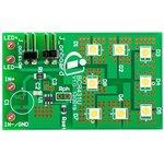 DEMOBCR431ULVDROPTOBO1, Evaluation Board, BCR431U, 24 V Input, 15 mA ...