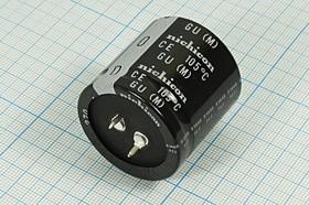 Фото 1/2 Конденсатор электролитический 270мкФ кэ 270\450\35x35\20\+105C\ Al\2P\LGU\NICHICON