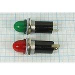 Фото 3/3 Держатель ламп с цоколем E10/13 с зеленым светофильтром 5711 G держатель патрон ламп\E10/13\пл\ зел\2C\LH-005.GNX\