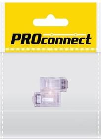 05-1021-8, Разъем сетевой LAN на кабель, штекер 8Р8С (Rj-45), под обжим, 2 шт., пакет БОПП