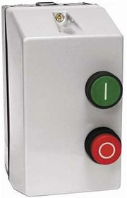 Пускатель магнитный КМЭ-18А 220В с РТЭ в корп. IP65 EKF ctrp-r-18-220v