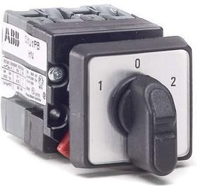 Фото 1/2 Переключатель 3-х поз. OMU1PB 1 ур. 10А IP65 ABB 1SCA022532R5960/ 9CNB022532R5960