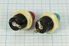 Фото 1/3 Держатель ламп с цоколем E10 с красным светофильтром 5622 R держатель патрон ламп\E10 \пл\кр\2C\LH-010RX\
