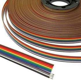 Шлейф цветной RCA 10 х 0,08 мм кв. 31 метр