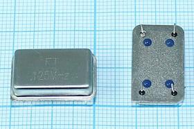 Кварцевый генератор 125МГц 5В,HCMOS/TTL в корпусе DIL14=FULL; гк 125000 \\FULL\T/CM\5В\FXO-F\FT