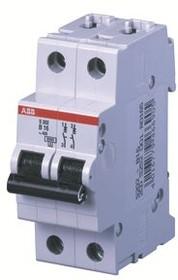 Выключатель автоматический модульный 2п B 16А 6кА S202 ABB 2CDS252001R0165