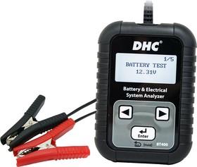 BT400, Тестер аккумуляторных батарей DHC