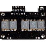RDC2-0061G, Дисплей характеристик цифрового звука - разрядности и частоты дискретизации. Зеленого свечения.