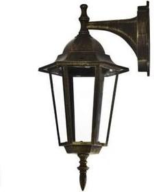 Светильник 4102 (НБУ 60Вт) 60Вт E27 IP43 улично-садовый бронза Camelion 5642