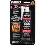 ABRO Герметик прокладок черный США 85г+