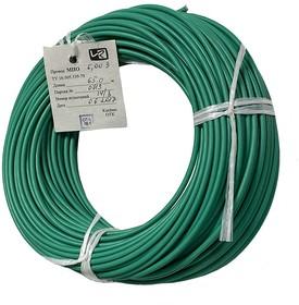 Провод МПО 6,0 зеленый 1 м