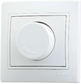 Светорегулятор СП 1000Вт Мира бел/бел. Lezard 701-0202-157