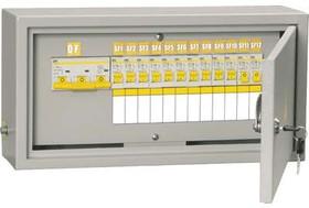 Щит ОЩВ-3-63-12-0 (ВВ63А 12х16А) IP31 ИЭК MSM10-3N-12-31