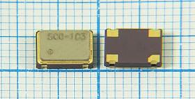 Кварцевый генератор часовой 32.768кГц 3.3В, HCMOS в корпусе SMD 7x5мм, гк 32,768 \\SMD07050C4\T/CM\ 3,3В\SCO-103\SUNNY