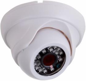 Фото 1/2 45-0277, Купольная камера IP 2.4Мп Full HD (1080P), объектив 2.8 мм., ИК до 20 м., PoE