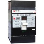Выключатель авт. 3п ВА-99 250/125А 35кА EKF mccb99-250-125