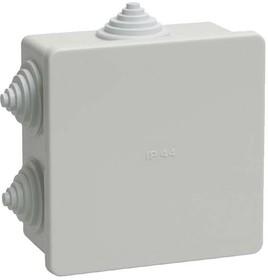 Коробка распаячная ОП 85х85х40 IP44 KM41235 (6 каб.ввод.) ИЭК UKO11-085-085-040-K41-44