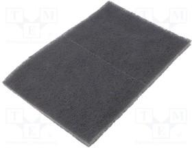 3M-7448PRO, Салфетки наждачная бумага, Цвет серый, 158x224мм
