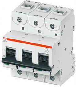 Выключатель автоматический модульный 3п C 100А 25кА S803C ABB 2CCS883001R0824