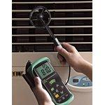 Фото 2/2 DT-618 Измеритель скорости воздуха и температуры