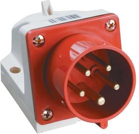 Вилка электрическая наружн. уст. 32А 3P+PE+N 380В IP44 ССИ-525 ИЭК PSR52-032-5