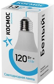 Лампа LED 13Вт 220В Е27 D60х108 белый А60