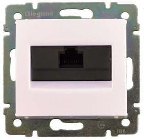 Механизм розетки информ. 1-м СП Valena RJ45-ISDN/интернет бел. Leg 774441