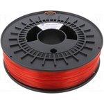 3DK-ABSM-1.75-RDT, Филамент EASY ABS, красный, прозрачный, 750г, 1,75мм